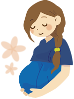 『妊婦イメージ』の画像