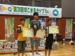 『中学生入賞』の画像