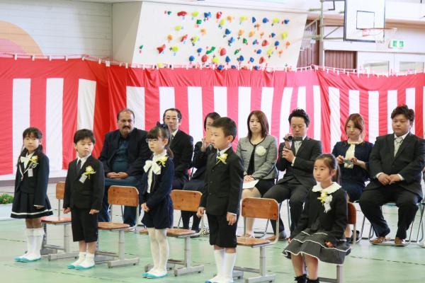 『旭北入学式(2)』の画像