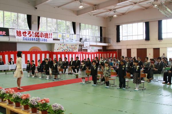 『旭北入学式(4)』の画像