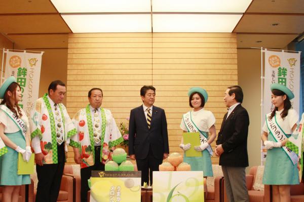 『総理表敬(2)』の画像