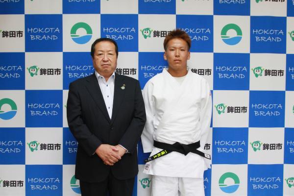 『曽谷岳琉選手』の画像