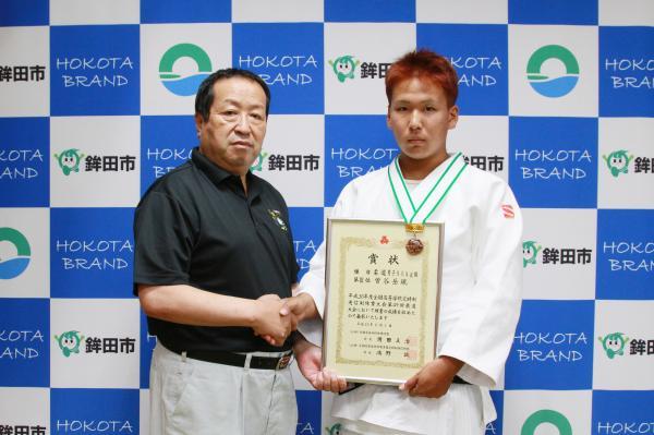 『曽谷岳琉選手(2)』の画像