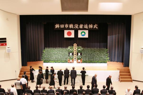 『戦没者追悼式(2)』の画像