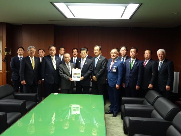 『石井国交大臣中央要望』の画像