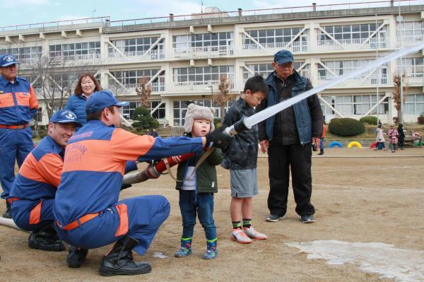『鉾小防災訓練(4)』の画像