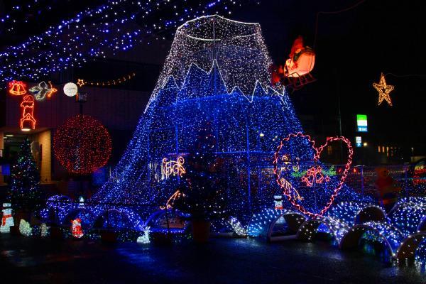 『クリスマスイルミネーション(1)』の画像