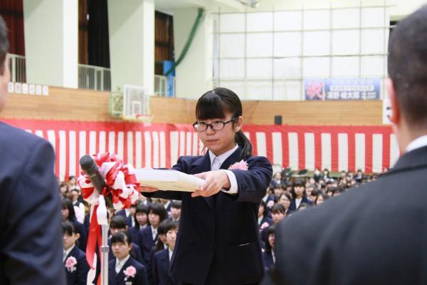 『南中卒業式(2)』の画像