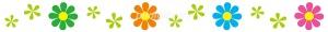 『カラフル花ライン』の画像
