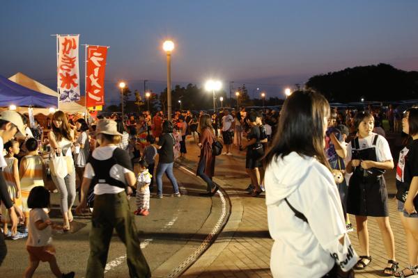 『鹿島灘夜祭り(4)』の画像