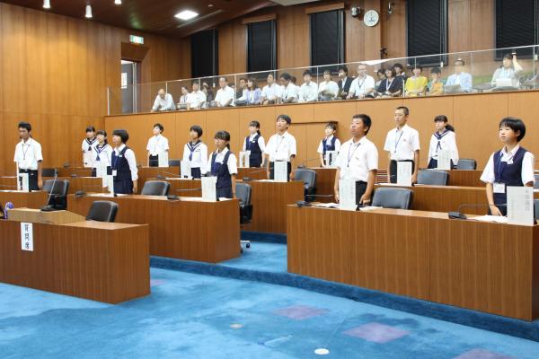 『子ども議会(2)』の画像