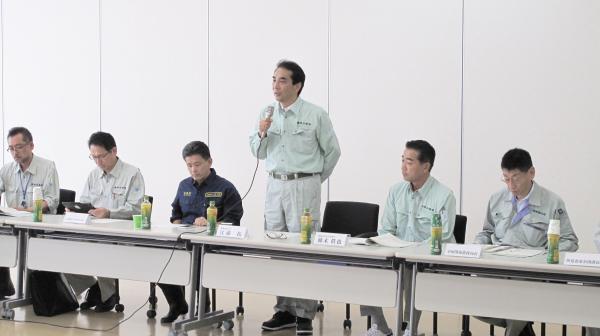 『江藤大臣・上月議員視察(2)』の画像