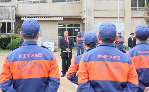 『上島西 防災訓練(1)』の画像