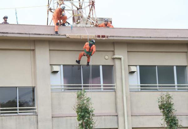 『上島西 防災訓練(2)』の画像