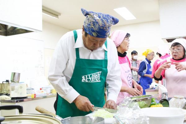 『男性の料理教室(1)』の画像