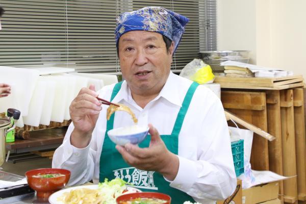 『男性の料理教室(2)』の画像