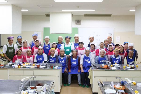 『男性の料理教室(3)』の画像
