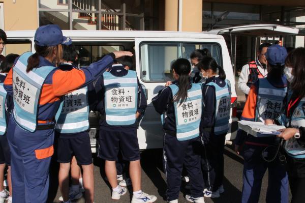 『避難所開設訓練(3)』の画像