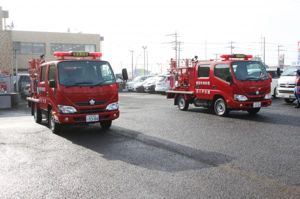 『消防自動車貸与式(5)』の画像