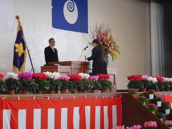 『鉾田農高卒業式2』の画像