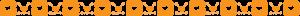 『オレンジハートチェック柄ライン』の画像