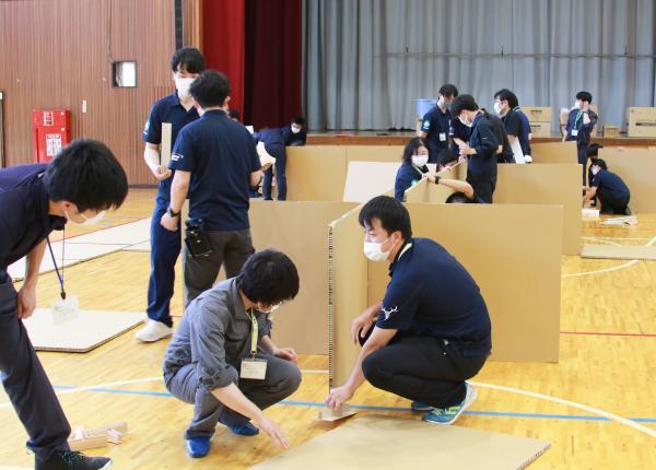 『避難所開設訓練2』の画像